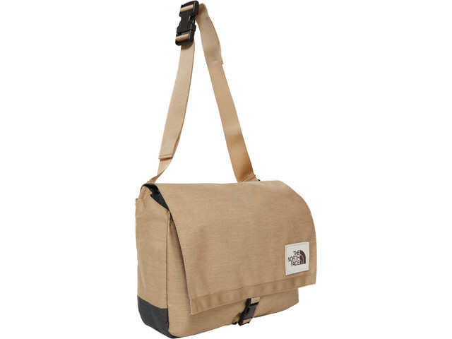 The North Face Berkeley Satchel kelp tan dark heather/asphalt grey light heather